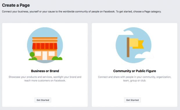 How to create a Facebook page for business - picture 2
