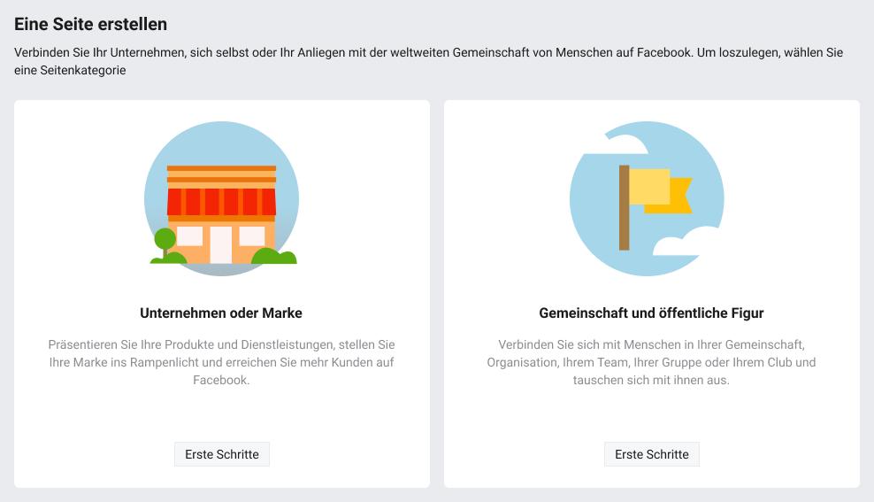 So erstellen Sie eine Facebook-Seite für Unternehmen - Bild 2
