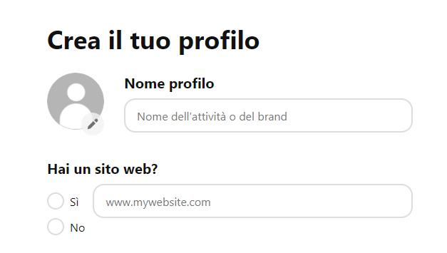 Come si crea una pagina aziendale su Pinterest? - immagine 3