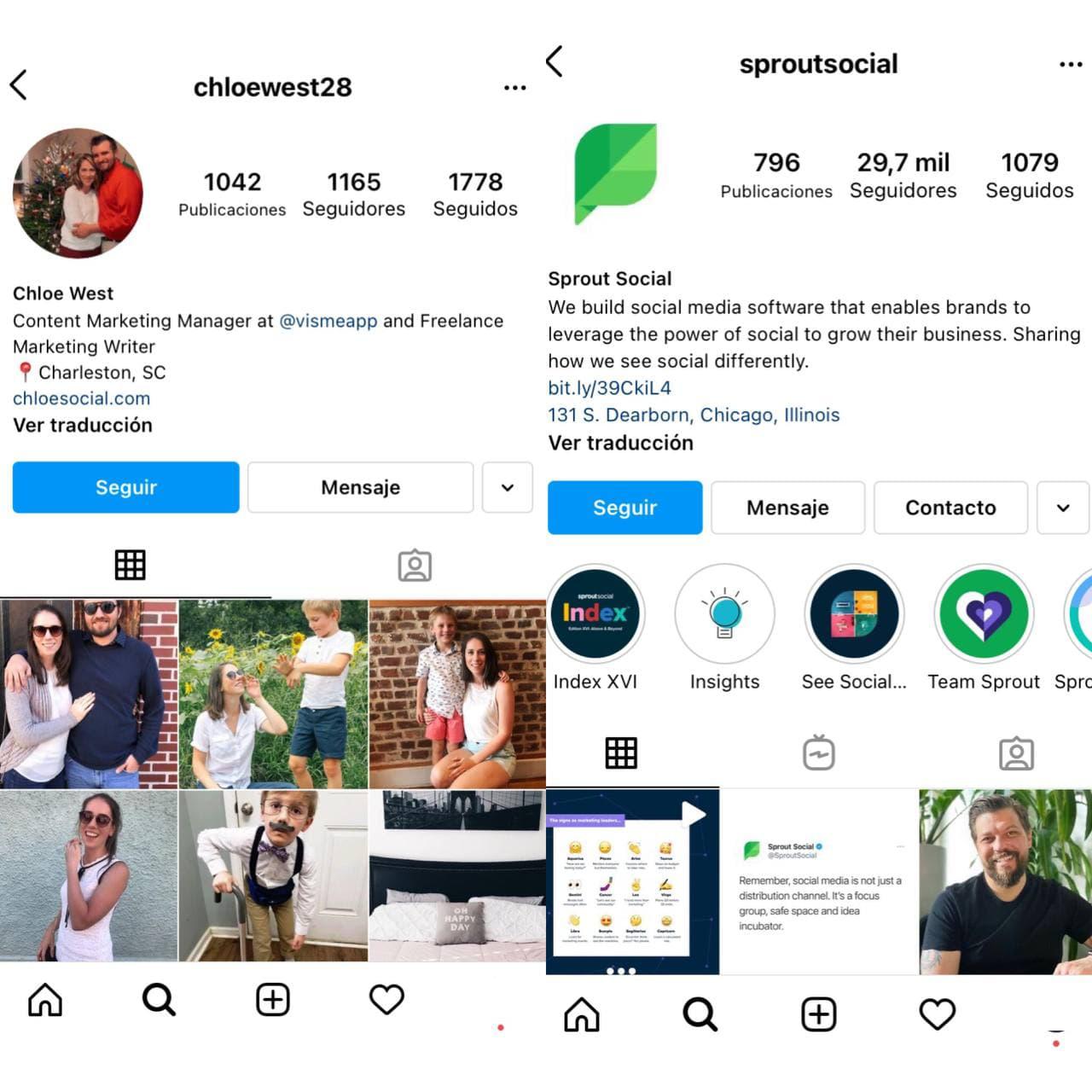 Beneficios y funciones de un perfil de empresa en Instagram - Imagen 3