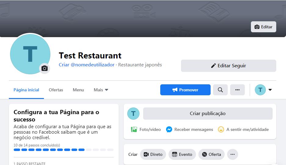 Como criar uma página comercial no Facebook - imagem 4