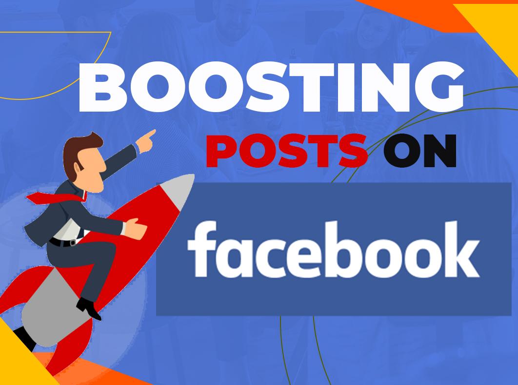 Boosting auf Facebook - kompletter Leitfaden für 2021