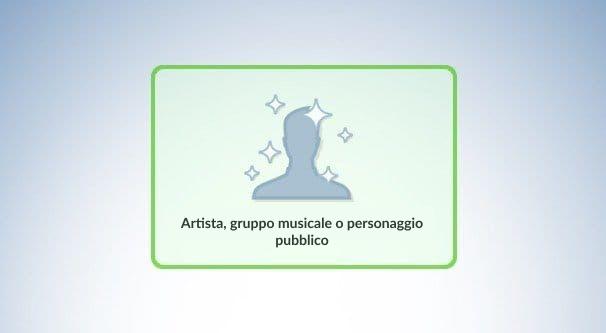 Artista, gruppo musicale o personaggio pubblico