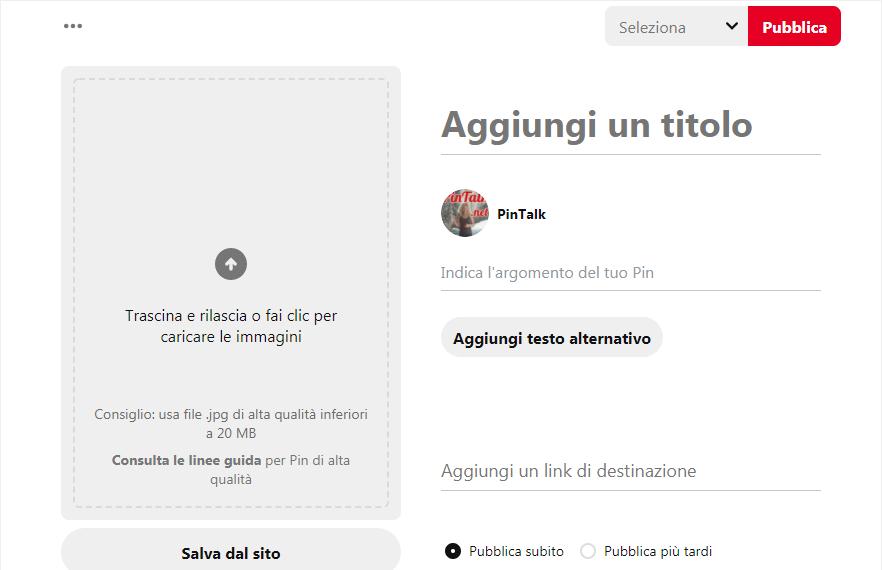Come si crea una pagina aziendale su Pinterest? - immagine 8