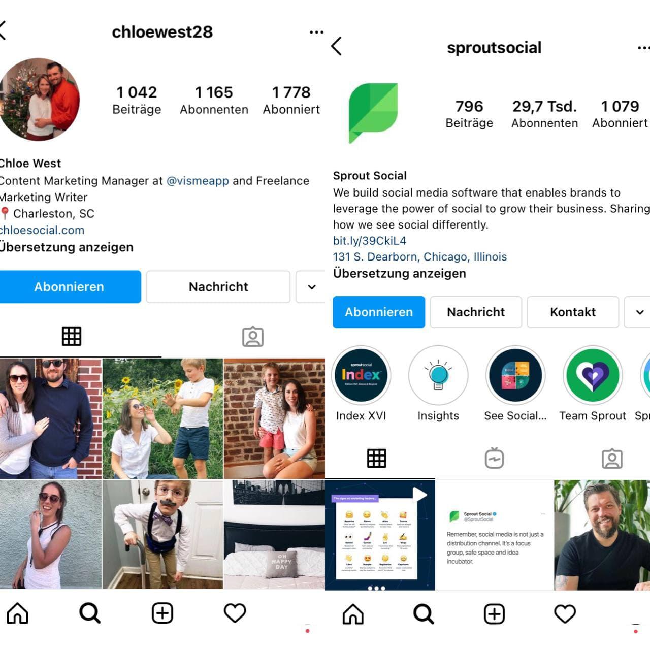 Vorteile und Funktionen eines Instagram-Geschäftskontos - Bild 3