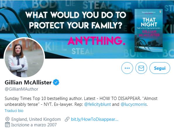 Collegati ad altri account Twitter verificati