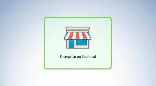 Entreprise ou lieu local
