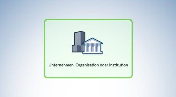 Unternehmen, Organisation oder Institution