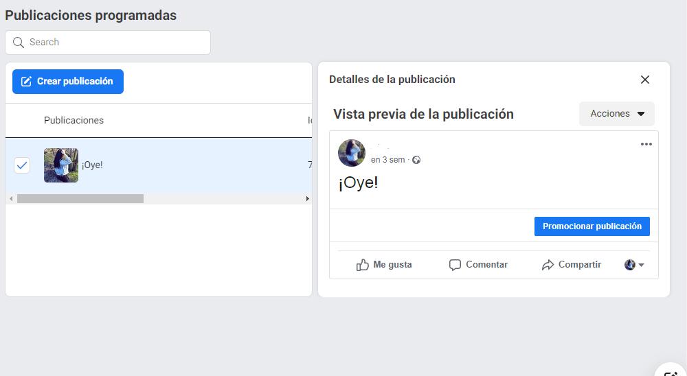 Cómo reprogramar, editar o eliminar publicaciones en Facebook - imagen 3